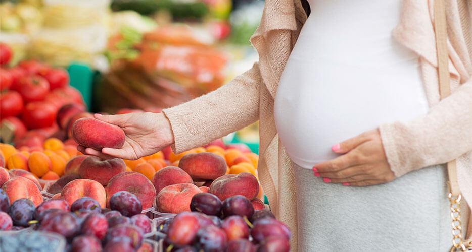 Le linee guida nutrizionali per i primi mesi di gravidanza