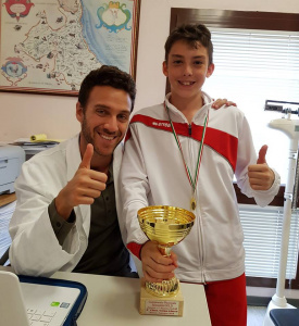 Nutrition for children and young sportsmen: Gabriele Tisselli