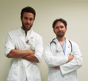 Nutritionist Andrea Del Seppia and Calogero Amella, Surgeon, Specialist in Gastroenterology and Digestive Endoscopy